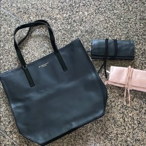 NEW Givenchy Parfums Tote With 2 Wallets